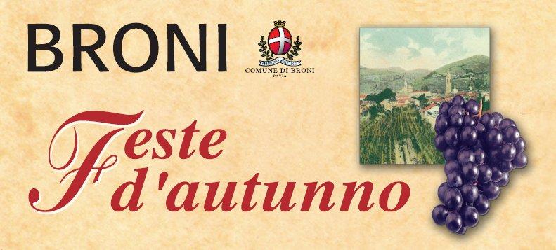 """Broni(PV) """"Festa d'autunno"""""""